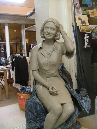 portrait d'Annick L. 2009