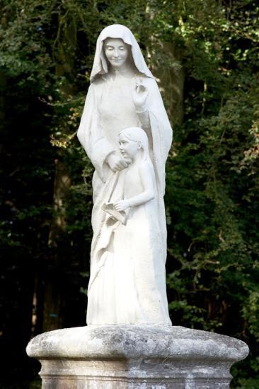 Sainte Anne et son enfant Marie