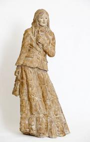 Delphine 1-07, engobe sur grès, 100 cm