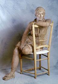 Delphine I, 2003, 120 cm de haut