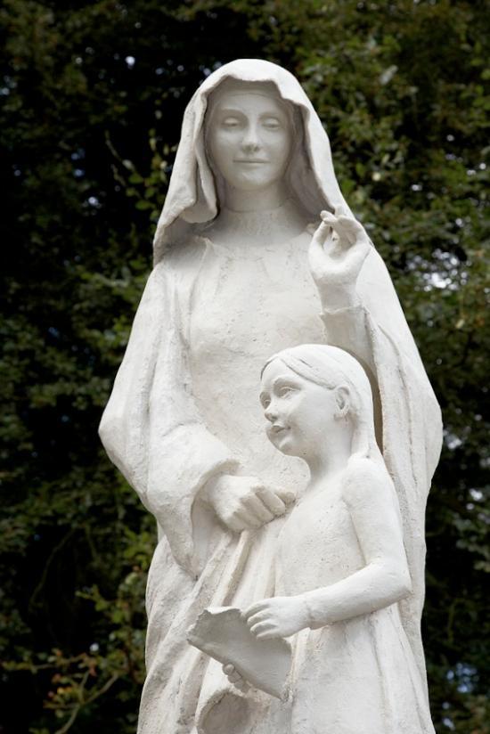 """""""Sainte Anne et l'enfant Marie"""" (27260), photo Pascal Despeaux"""