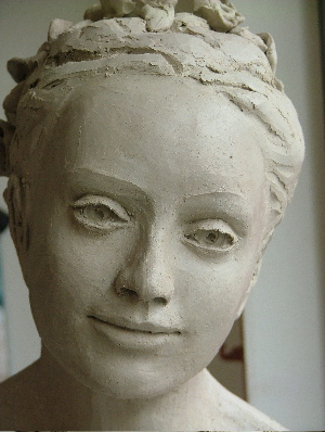 """""""Buste portrait de Claire"""""""