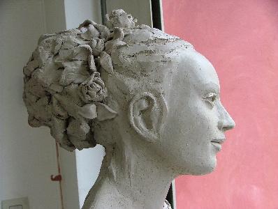 """Buste portrait de Claire"""""""