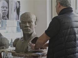 tête d'homme noir