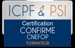 Logo icpf psi confirme cnefop formateur