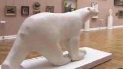 Ours blanc arriere droit