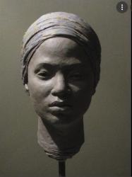 Tete de femme noire